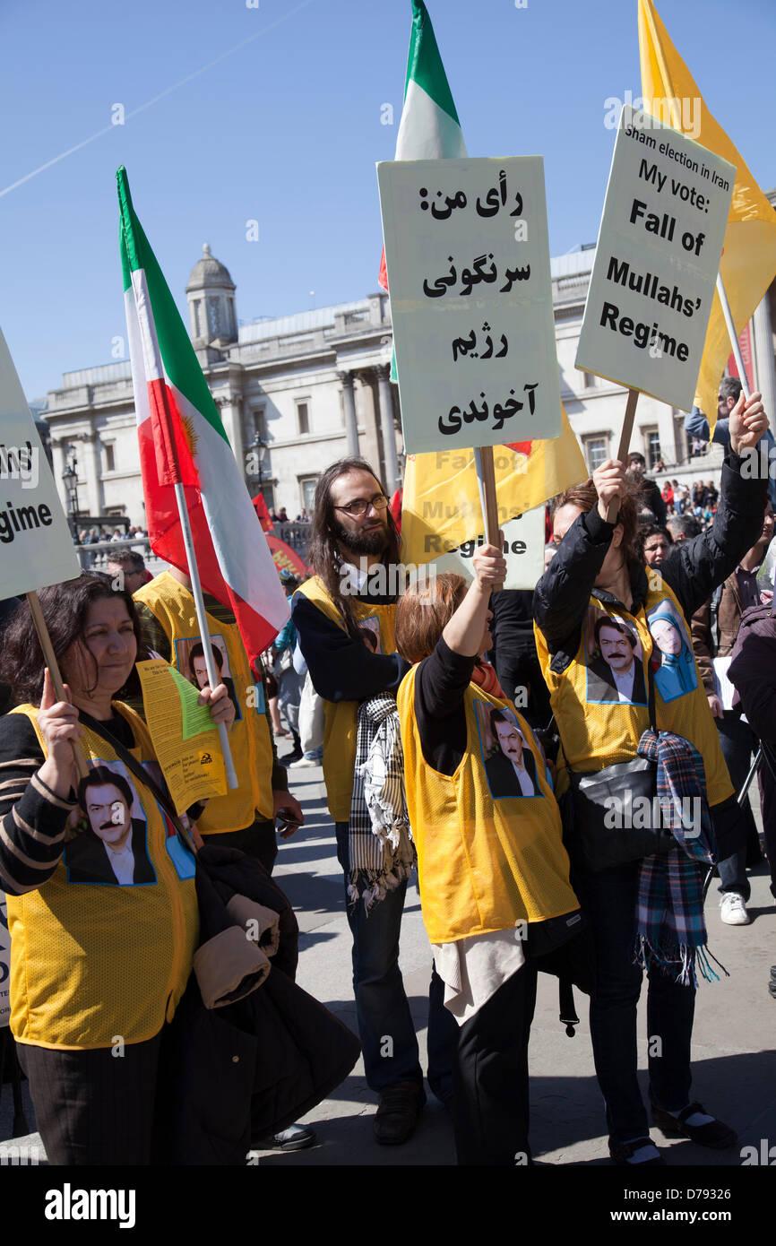 Les manifestants se rassembleront à Trafalgar Square 70e