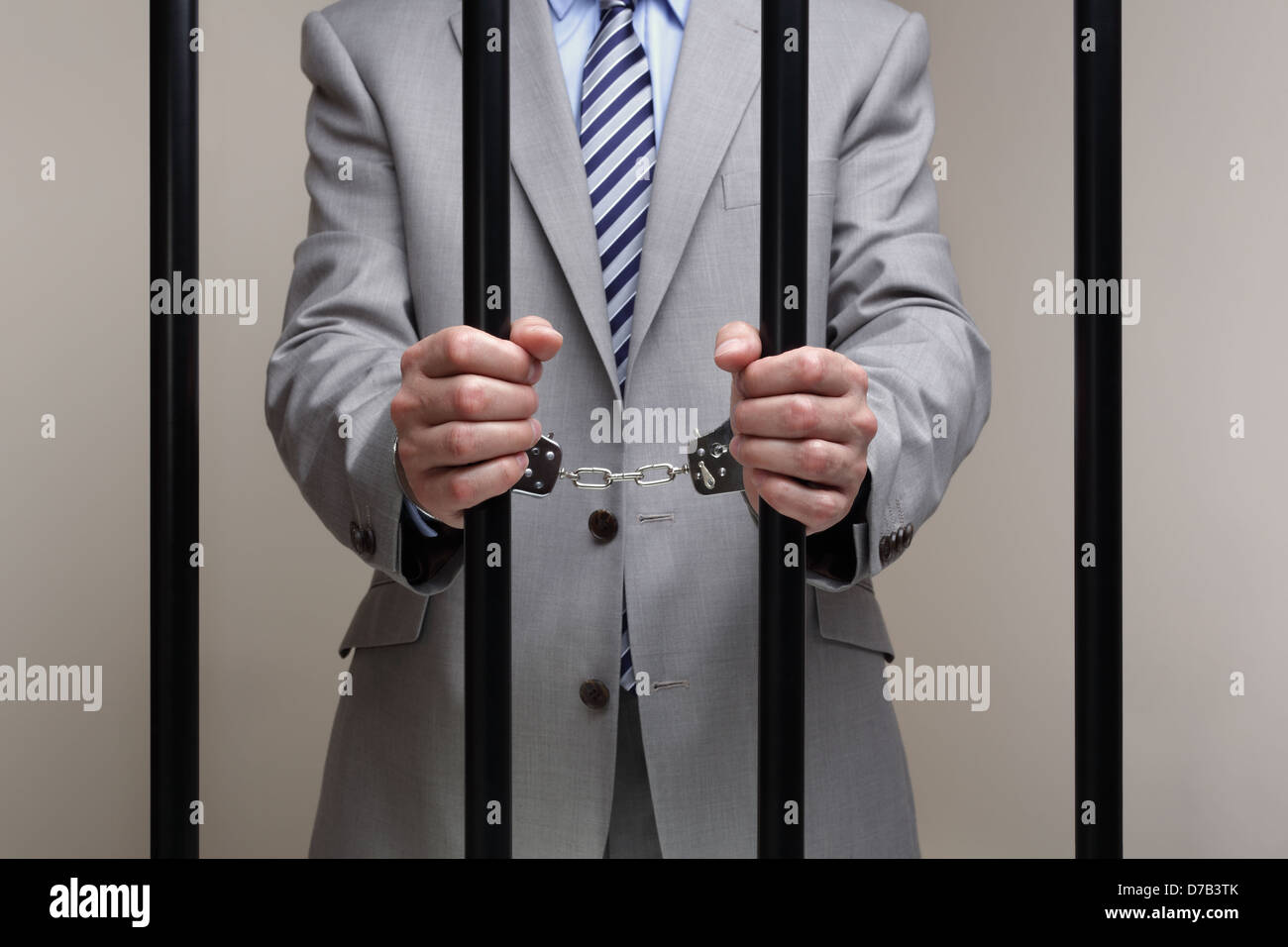 Wirtschaftsstrafrecht Stockbild