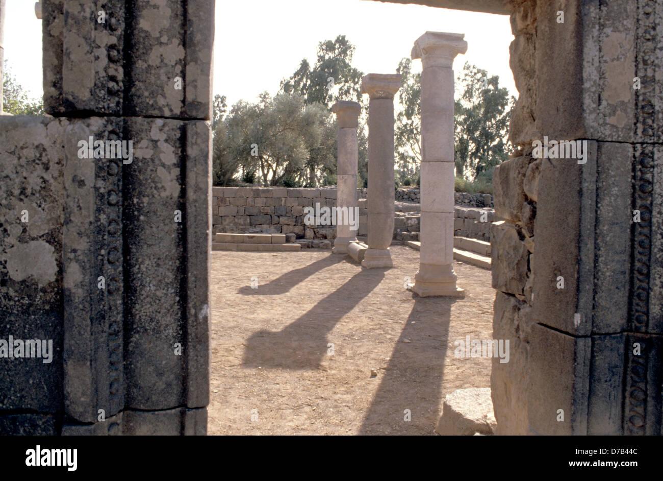 die alte Synagoge von kazerin Stockbild