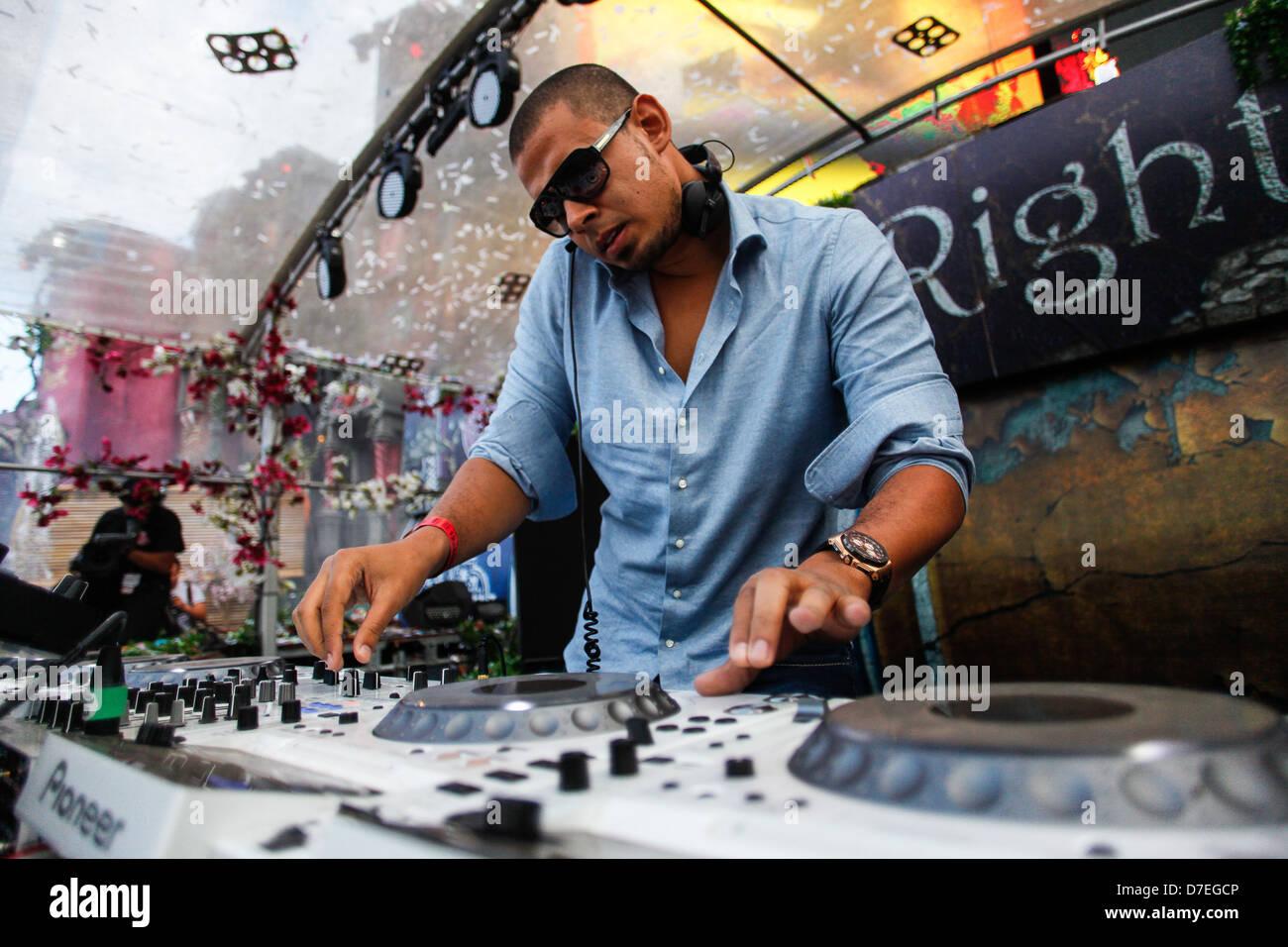 DJMag Top 20 DJ: Afrojack Stockbild