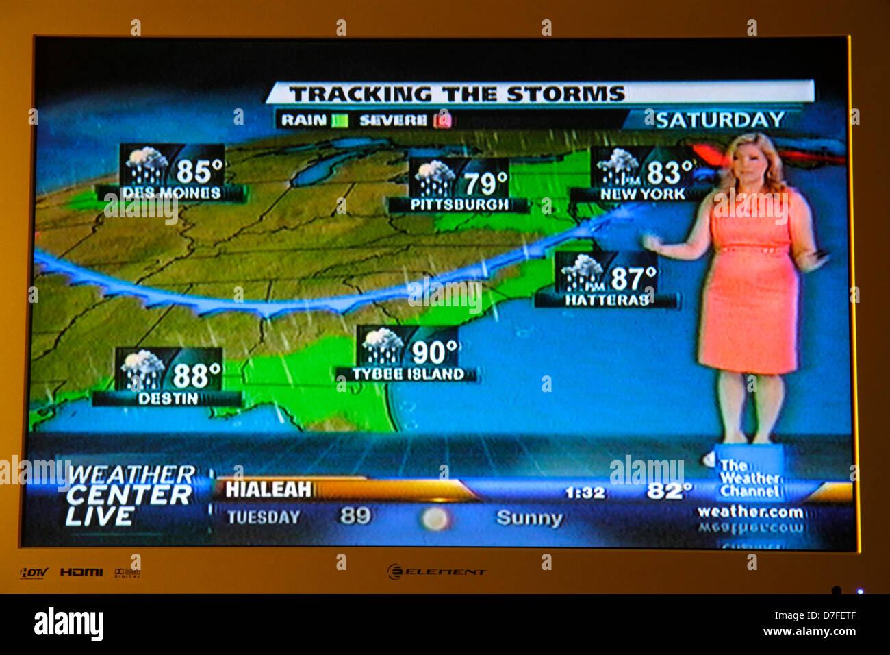 Weather Map America Stockfotos & Weather Map America Bilder - Alamy