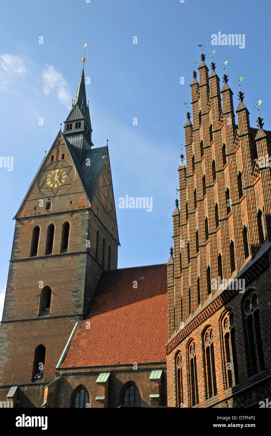 Deutschland, Niedersachsen, Hannover, Marktkirche Stockbild