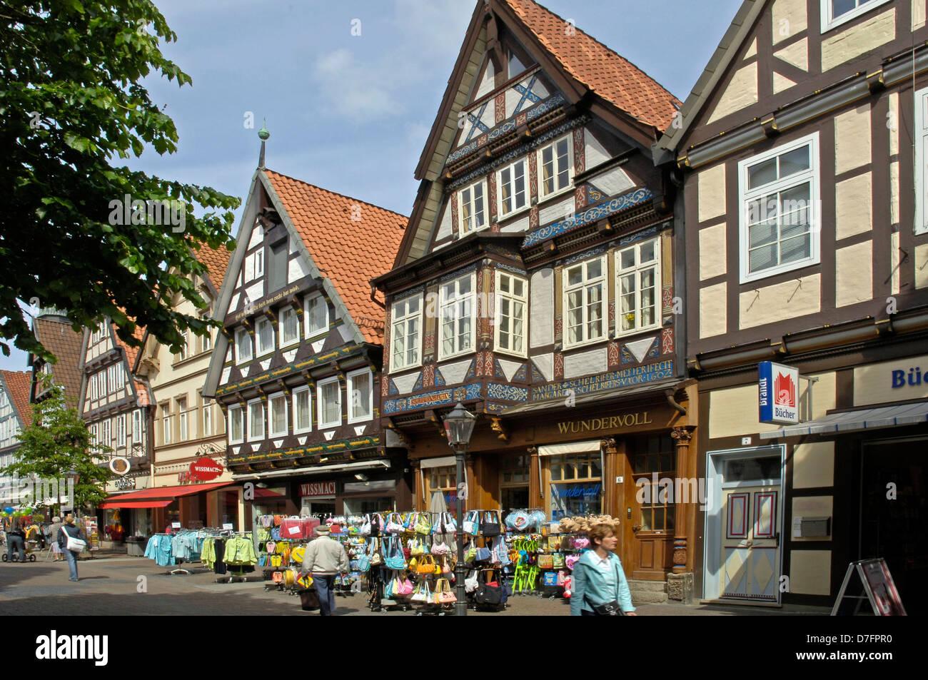Deutschland, Niedersachsen, Celle Stockbild