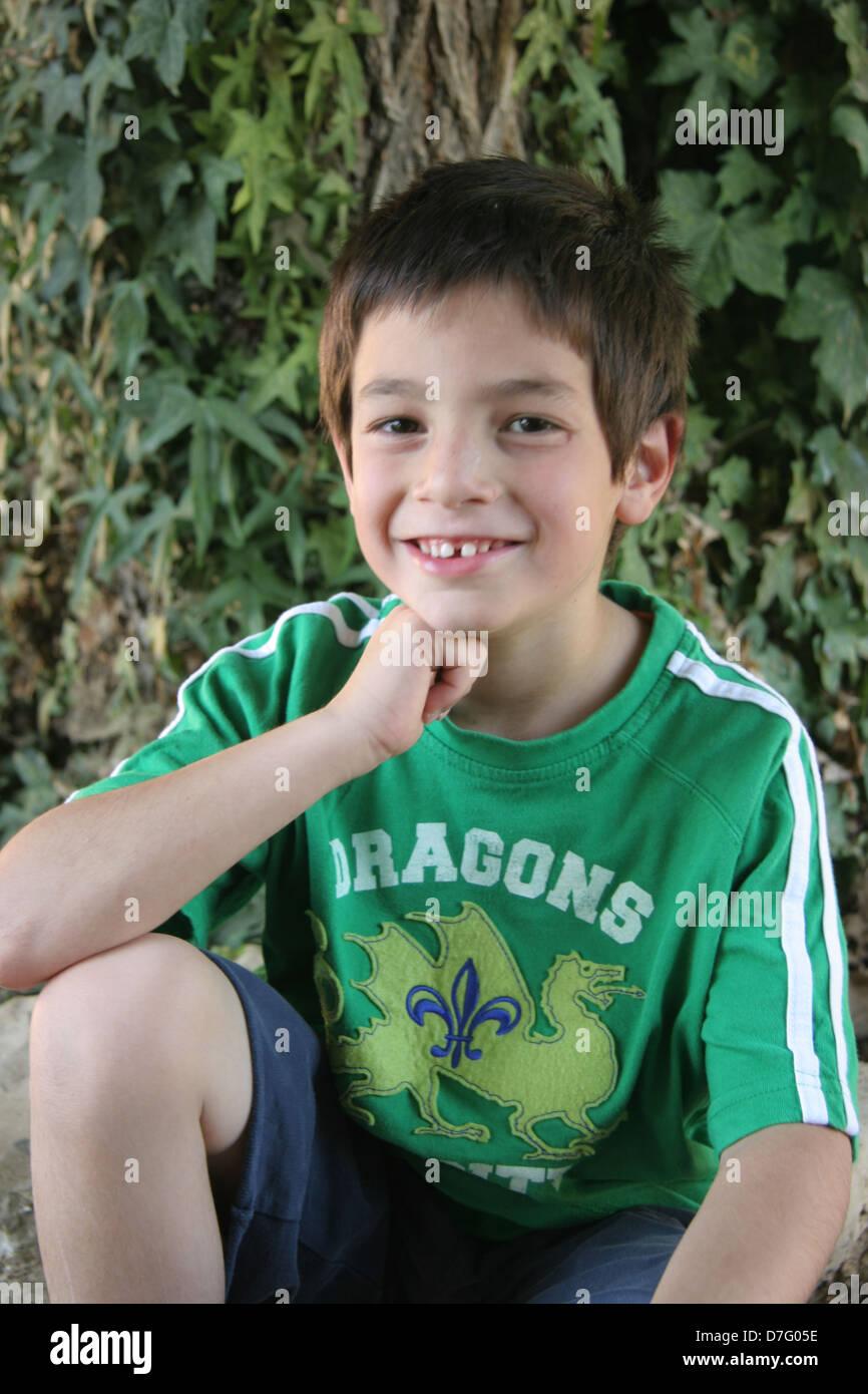 Kind (Alter 6) Stockbild
