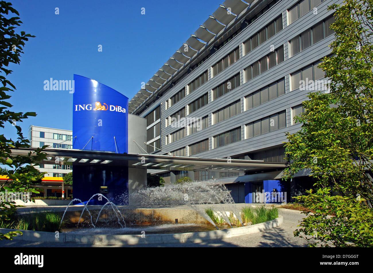 Deutschland, Niedersachsen, Hannover, DiBa Gebäude Stockbild