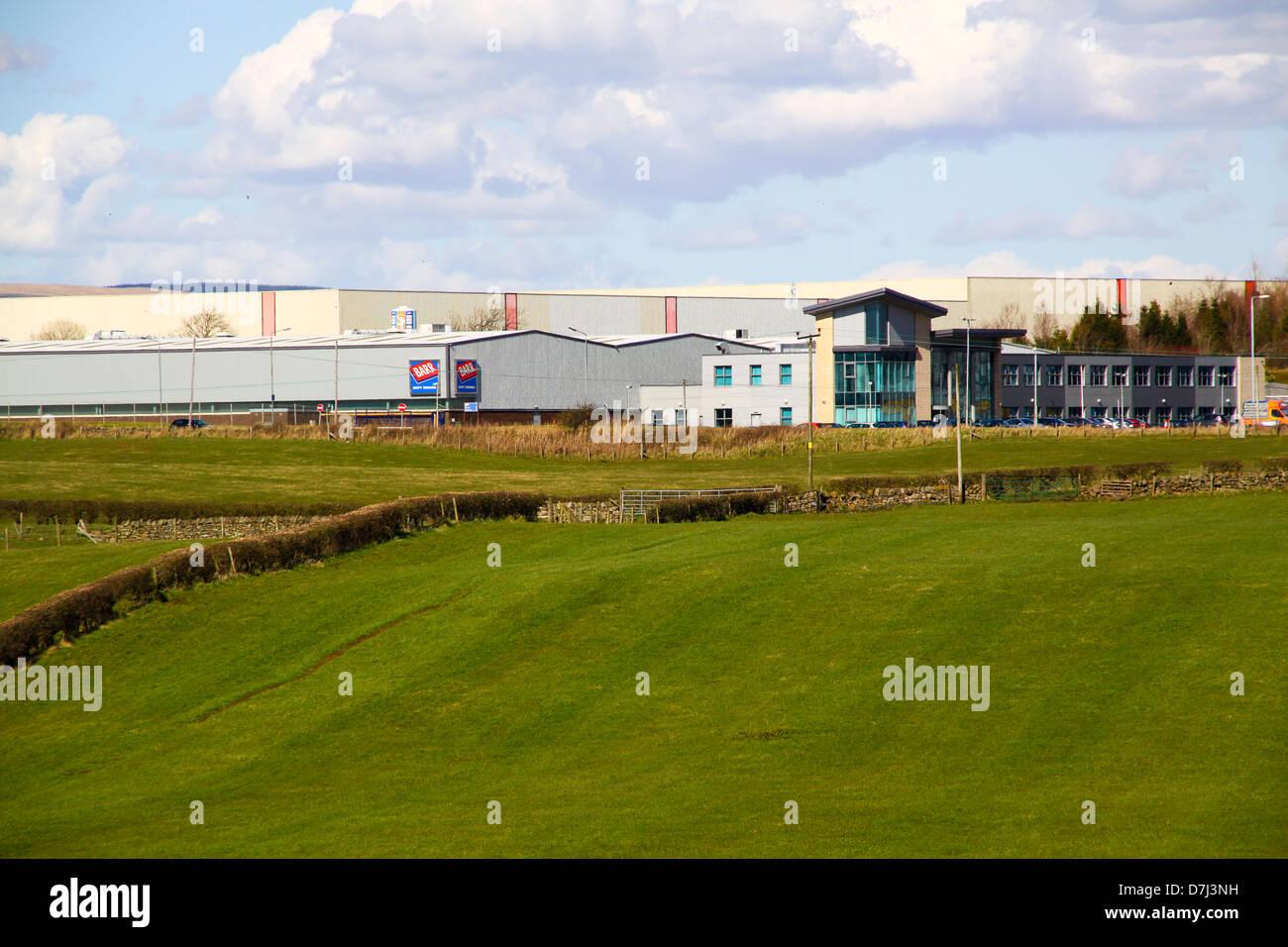 Irn Bru soft Getränke Fabrik Westfield Cumbernauld Schottland ...
