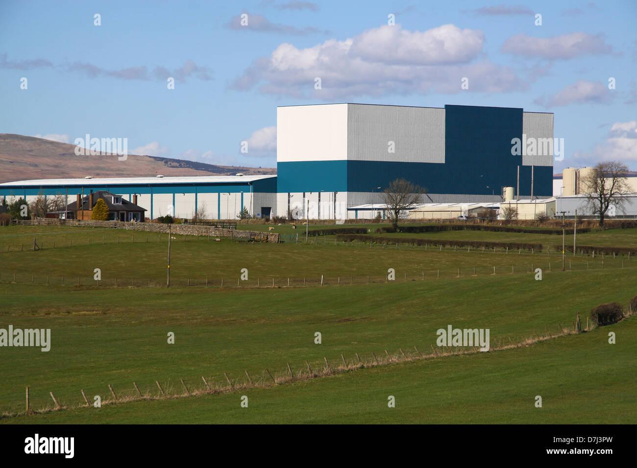 Irn Bru Factory Cumbernauld Tour
