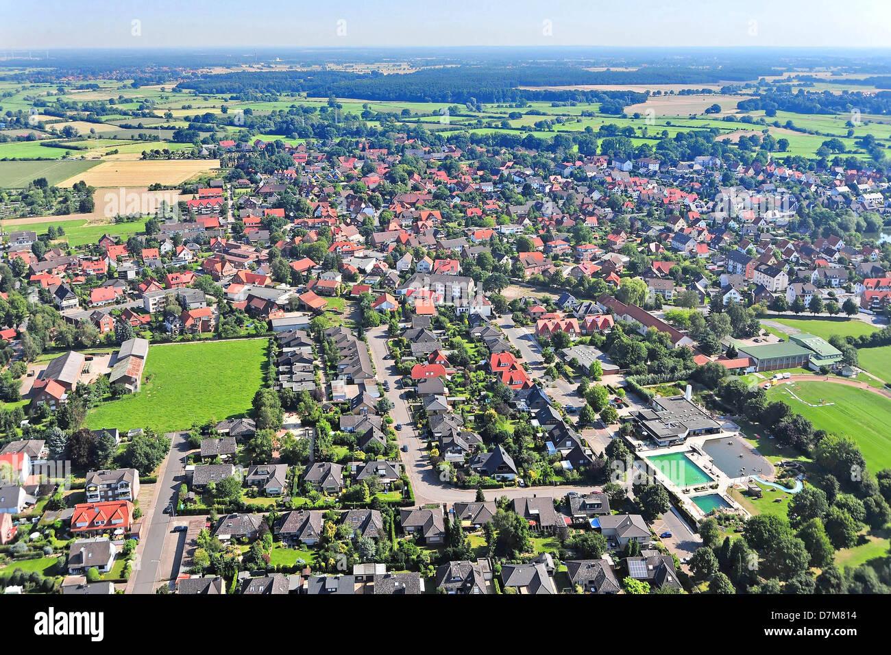 Deutschland, Niedersachsen, Wunstorf, Luthe Stockbild