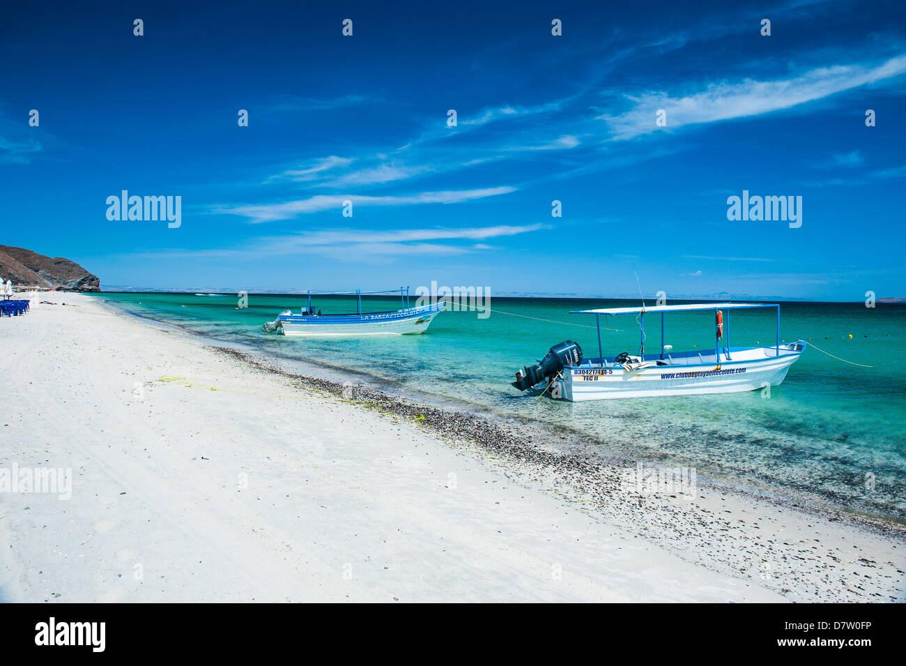 Playa Tecolote, Baja California, Mexiko Stockbild