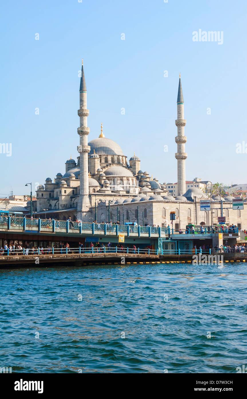 Yeni Cami (neue Moschee), Istanbul Altstadt, Türkei Stockbild