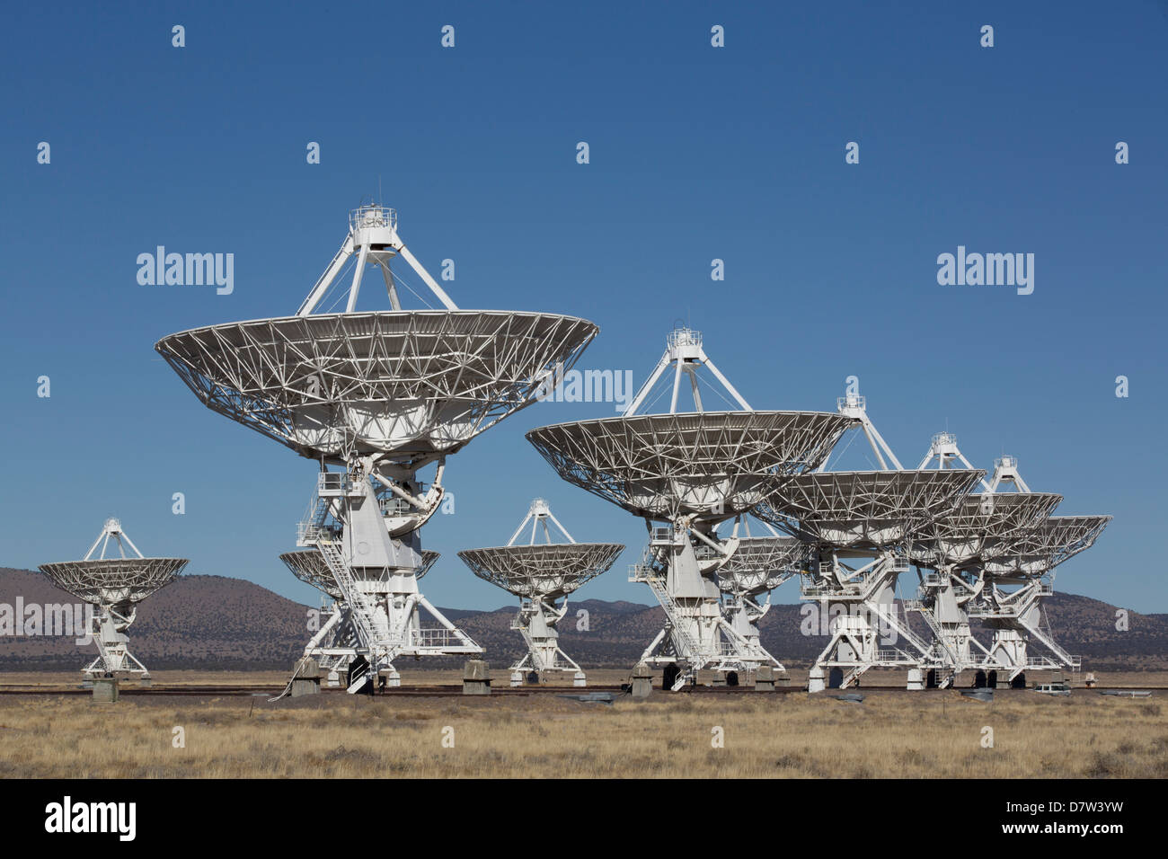 Das Very Large Array, New Mexico, USA Stockbild