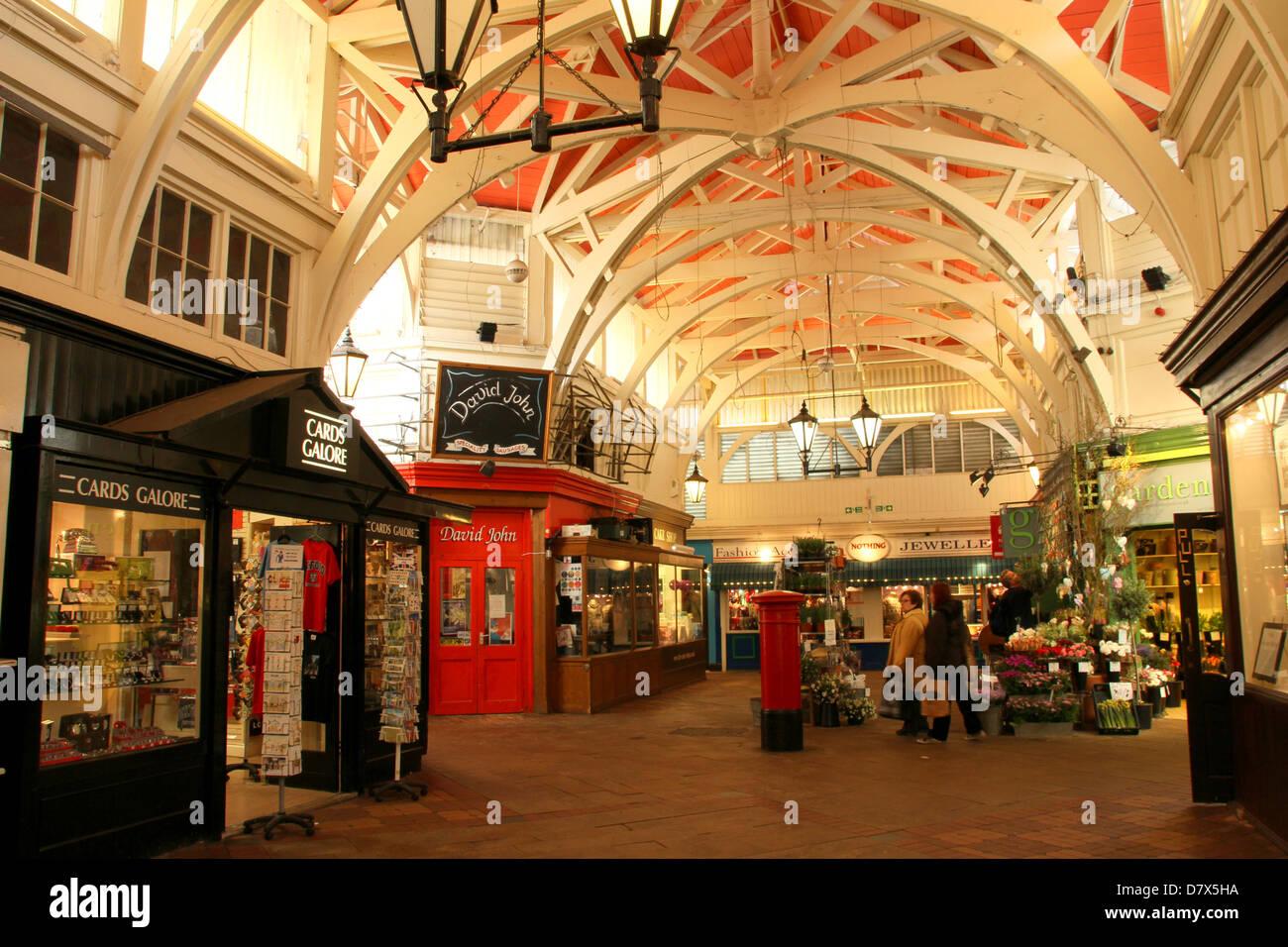 Oxford Covered Market, Oxford, England Stockbild