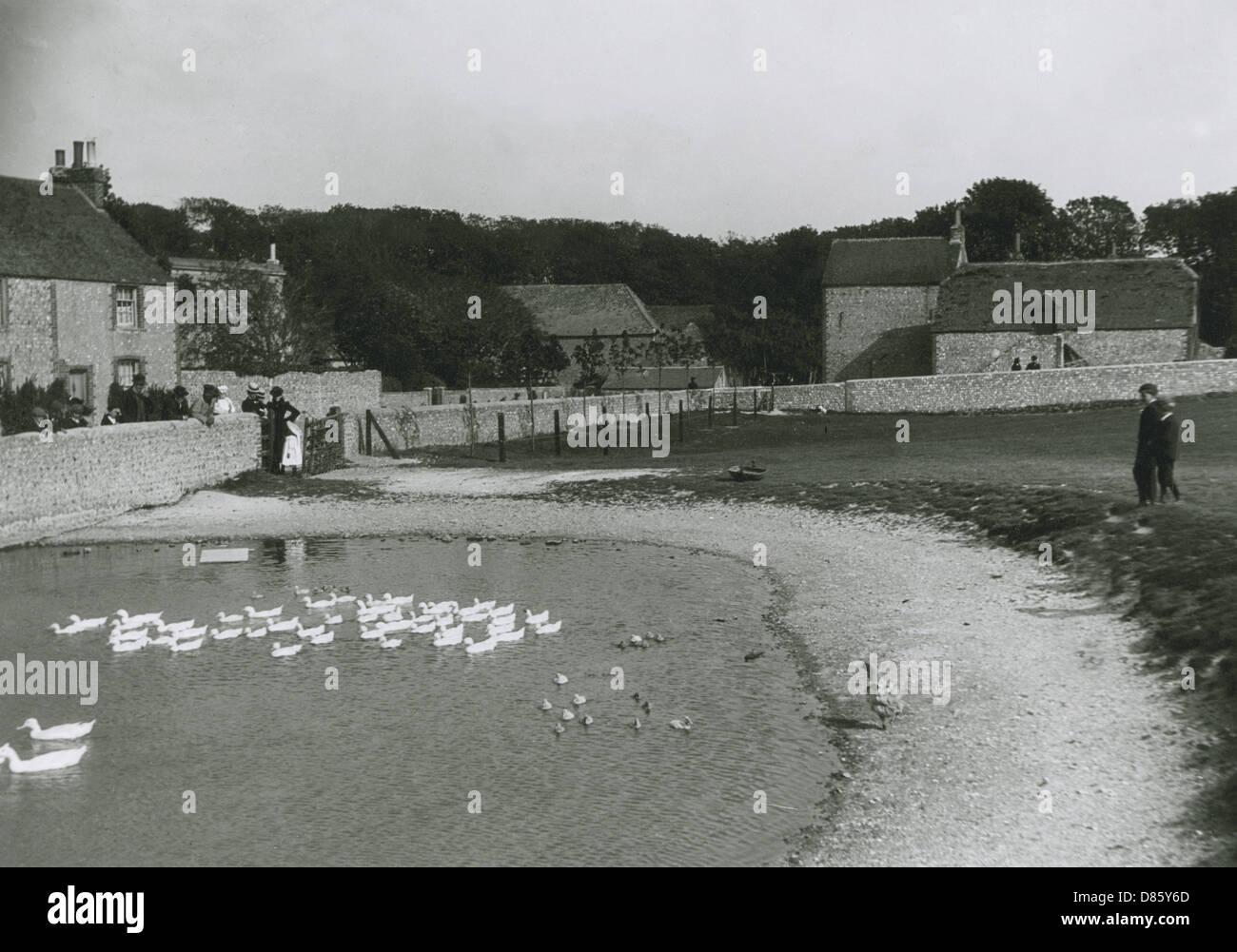 Ovingdean Sussex Stockbild