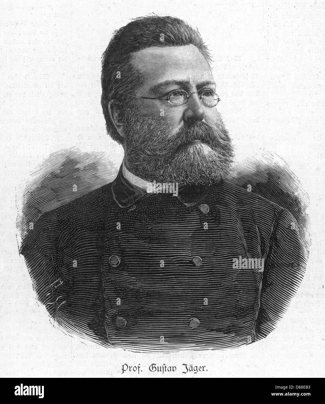 Gustav Jaeger Stockbild