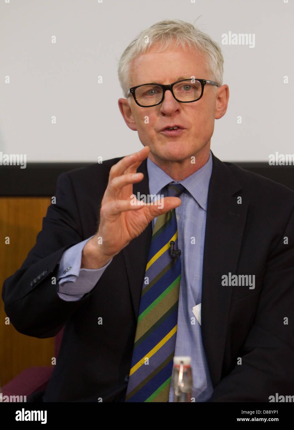 Norman Lamb, Lib Dem MP North Norfolk, Staatsminister für Betreuung und Unterstützung des Königs Stockbild