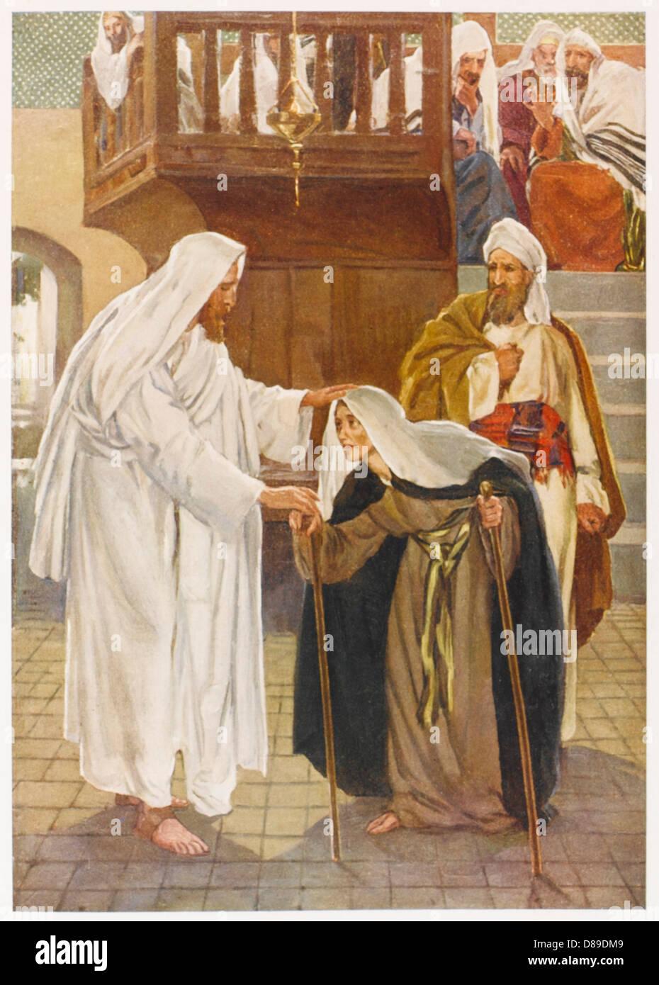 Gemütlich Jesus Heilt Die Lahme Mann Färbung Seite Bilder - Framing ...
