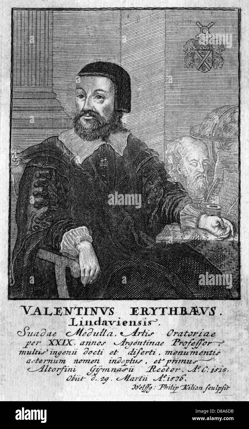Valentinus Erythraeus Stockbild