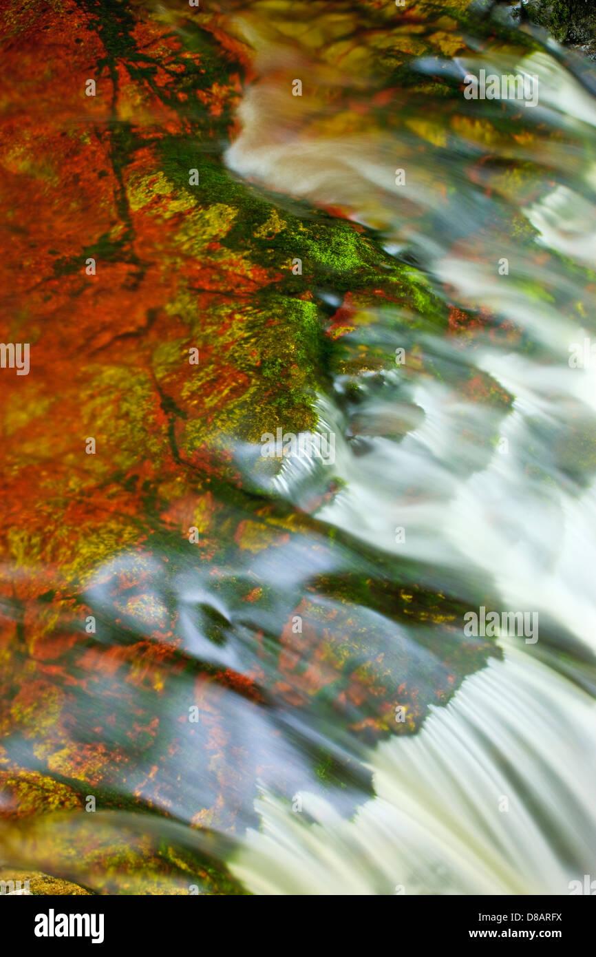 Neddfechan Fluss Brecon Beacons National Park Powys Wales Stockbild