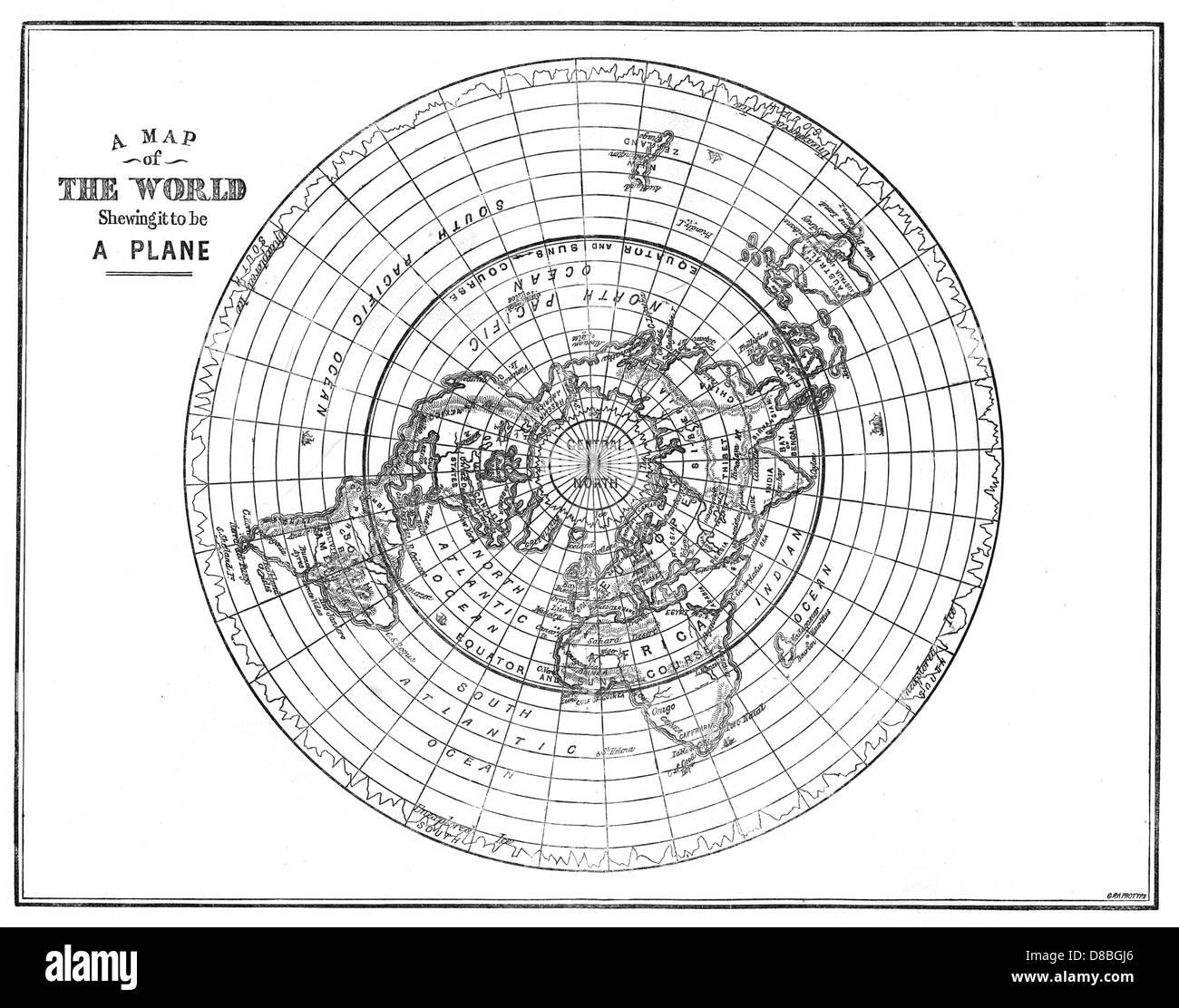 Flache Erde Karte Kaufen.Flache Erde Stockfoto Bild 56802878 Alamy