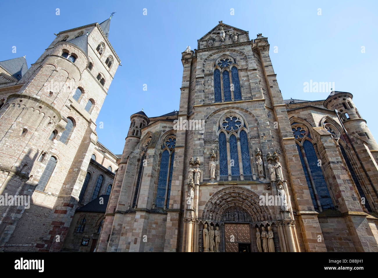 Kirche unserer lieben Frau, Cathedral of Trier, Trier, Rheinland-Pfalz, Deutschland, Europa Stockbild