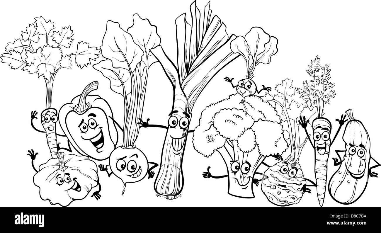 radish vegetable happy cartoon stockfotos  radish