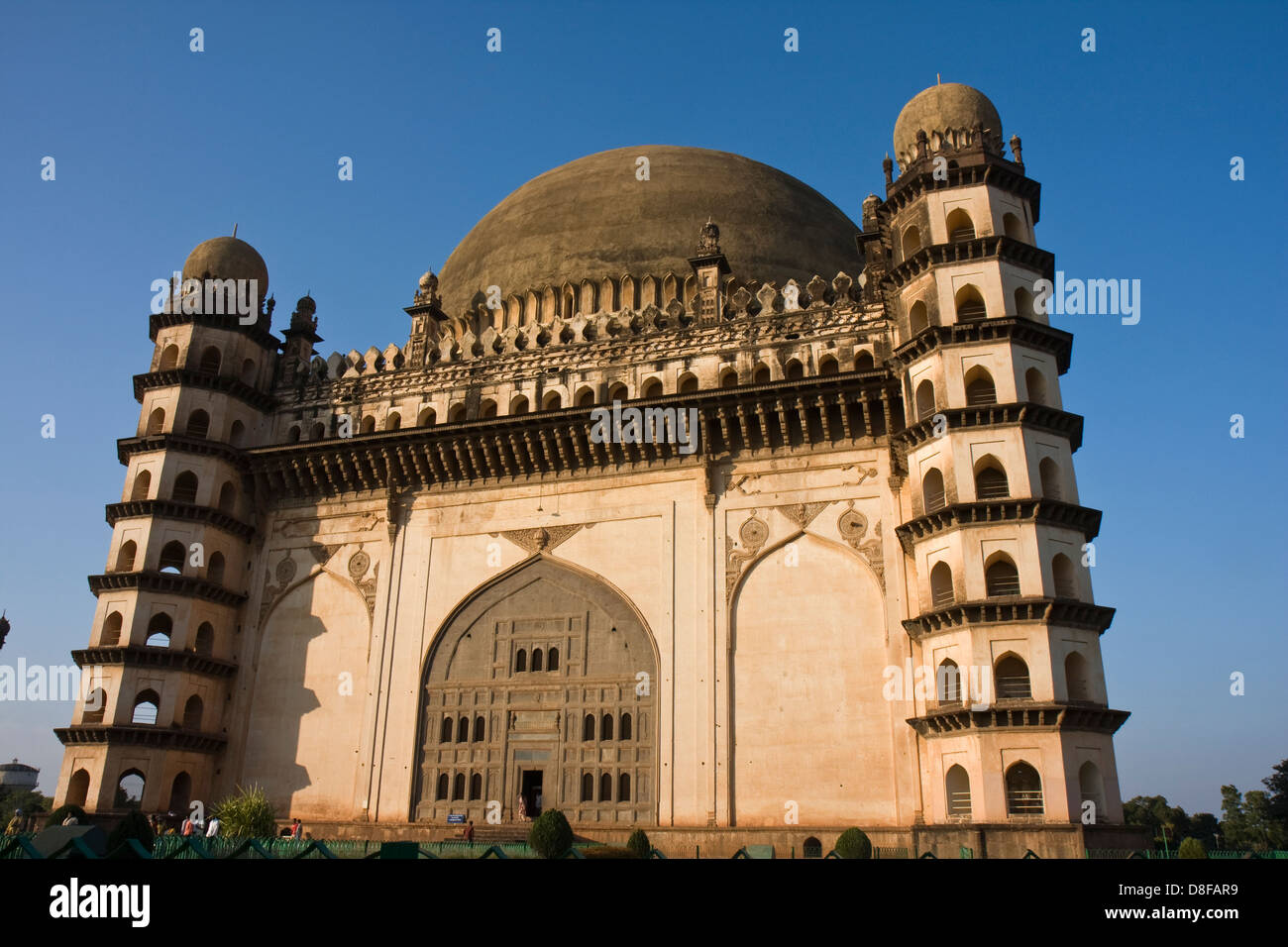 Asien, Indien, Karnataka, Bijapur, Golgumbaz, Archaeologisches Museum Und Mausoleum von Mohammed Adil Shah Stockbild