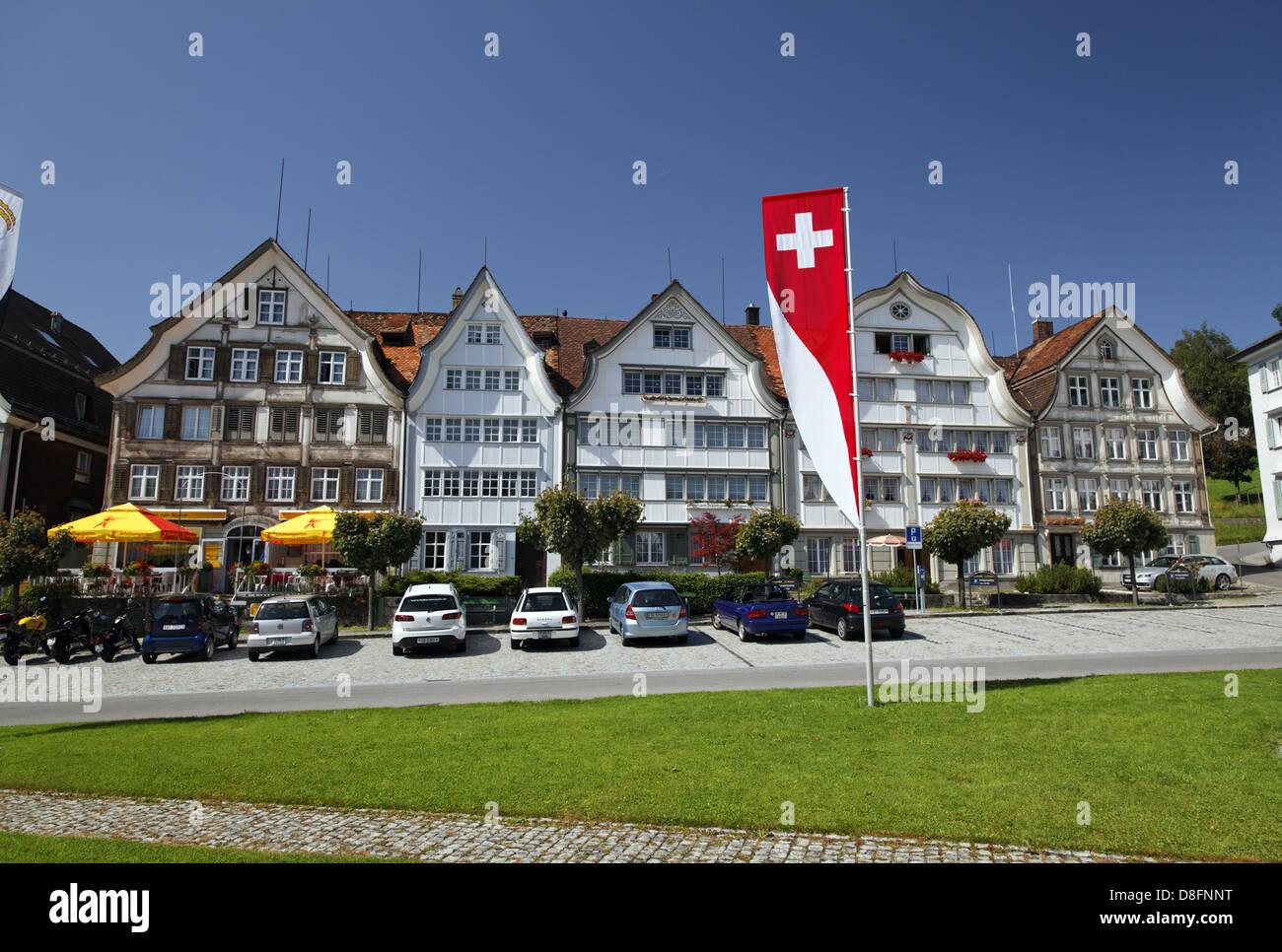 Schweiz, Appenzell Ausserrhoden, Gais; Haus Stockbild