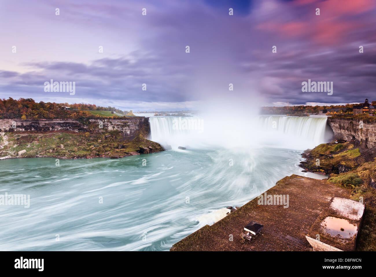 Horseshoe Falls, Niagara Falls, Ontario, Kanada Stockbild