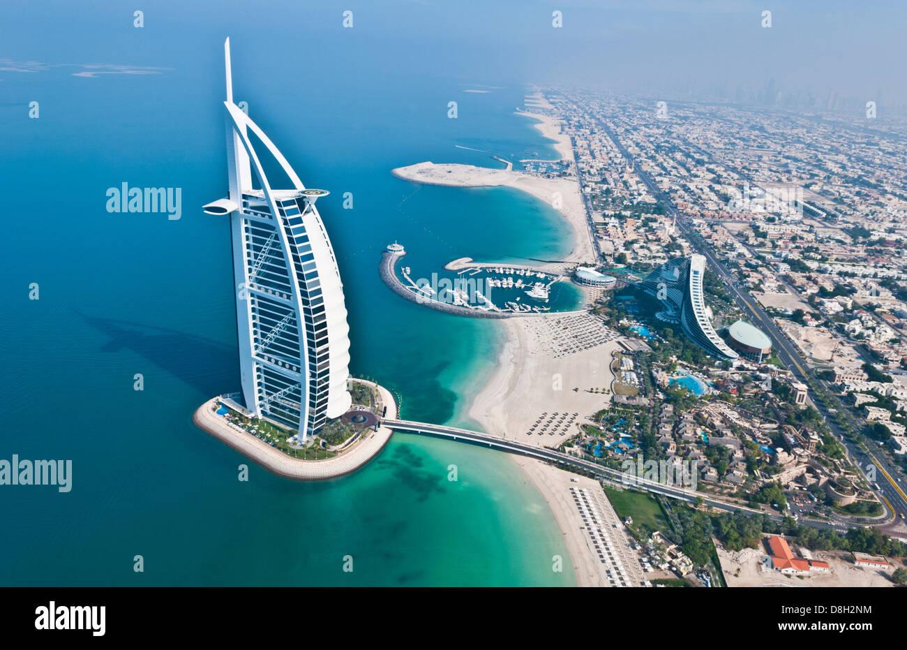 Weltweit Einzige 7 Sterne Hotel In Dubai Vae Genannt Das Burj Al