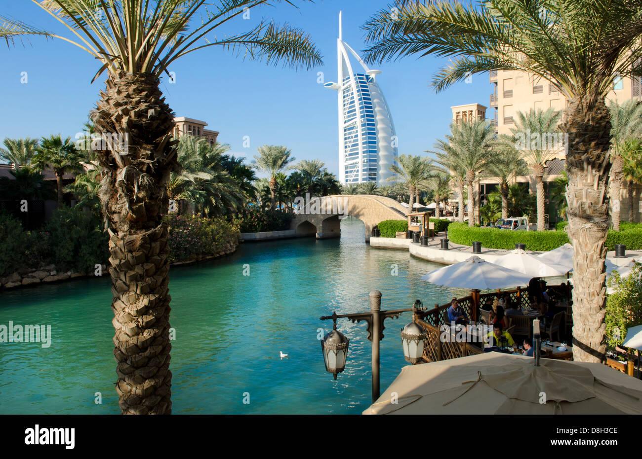 Wunderbare 7 Sterne Hotel Burj Al Arab Vom Einkaufszentrum Im