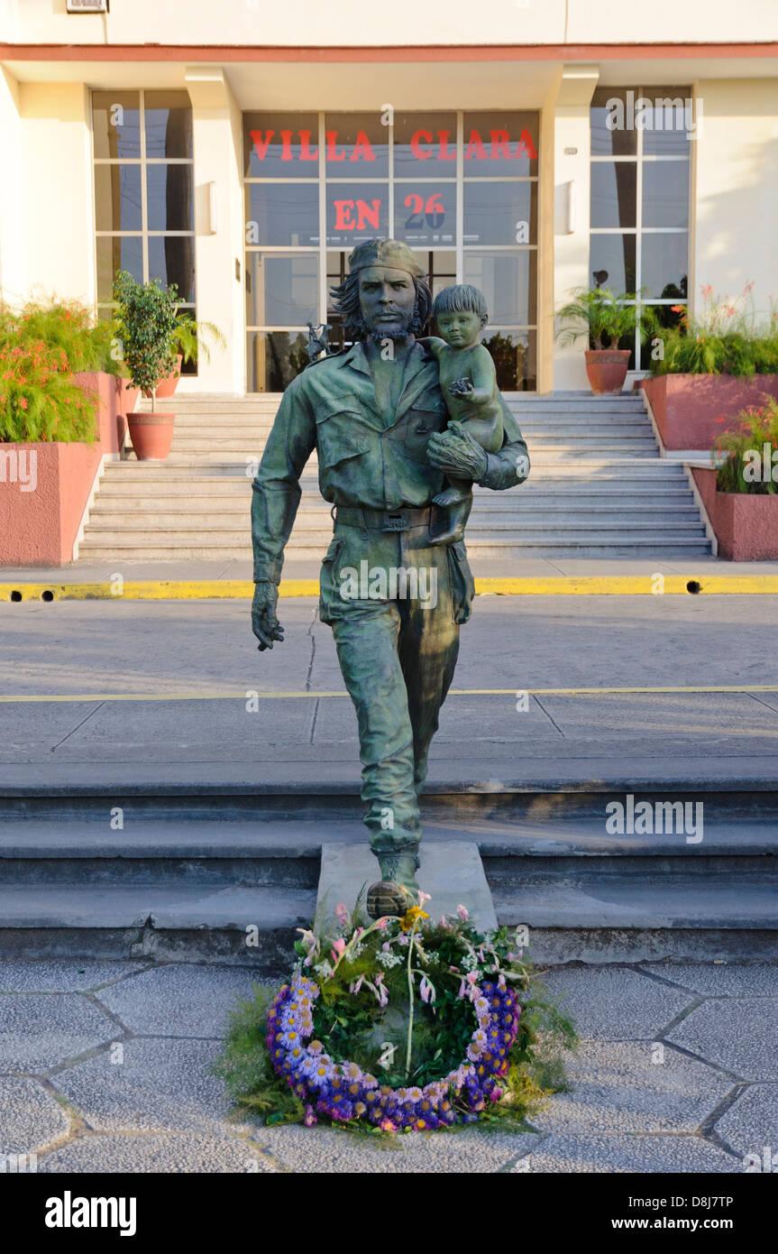 Che Guevara-Statue, Santa Clara, Kuba, Caribbean Stockbild