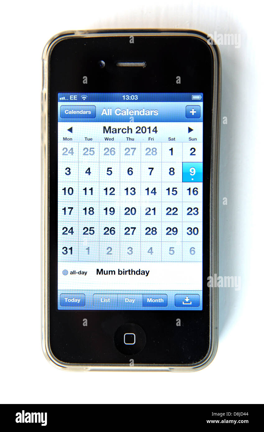 Geburtstag kalender iphone 6