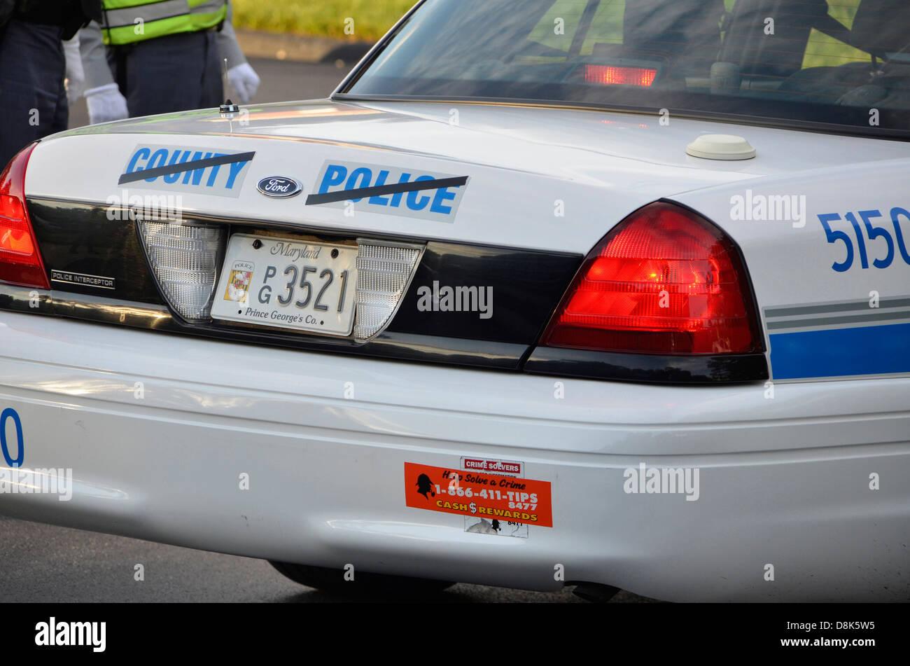 Ein Polizeiauto Stockfotos Ein Polizeiauto Bilder Alamy