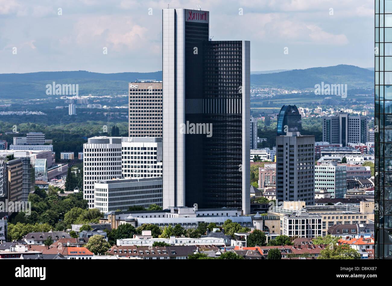 Marriott Frankfurt Stockfoto Bild 56986055 Alamy