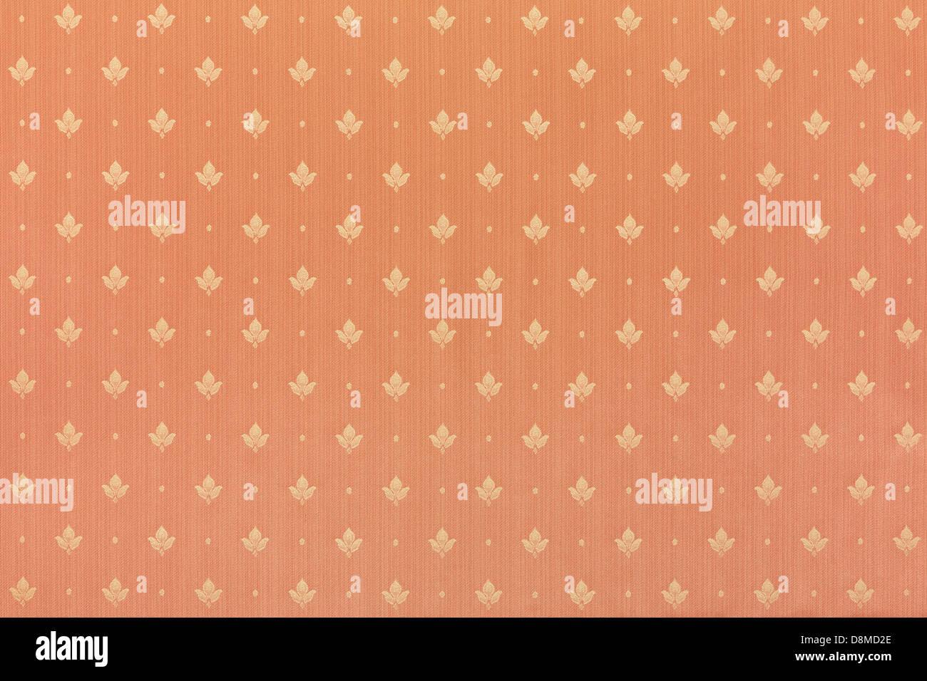 Abstrakte braune Blumentapete Textur Hintergrund Stockbild