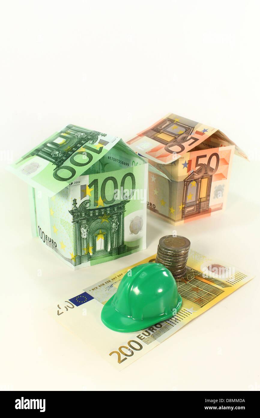 Baufinanzierung Stockbild