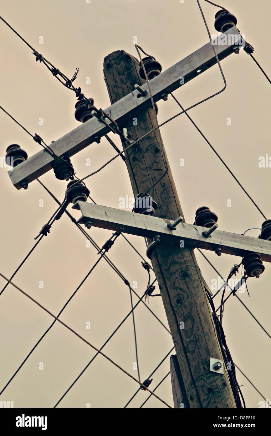 Strom Kabel Stockbild