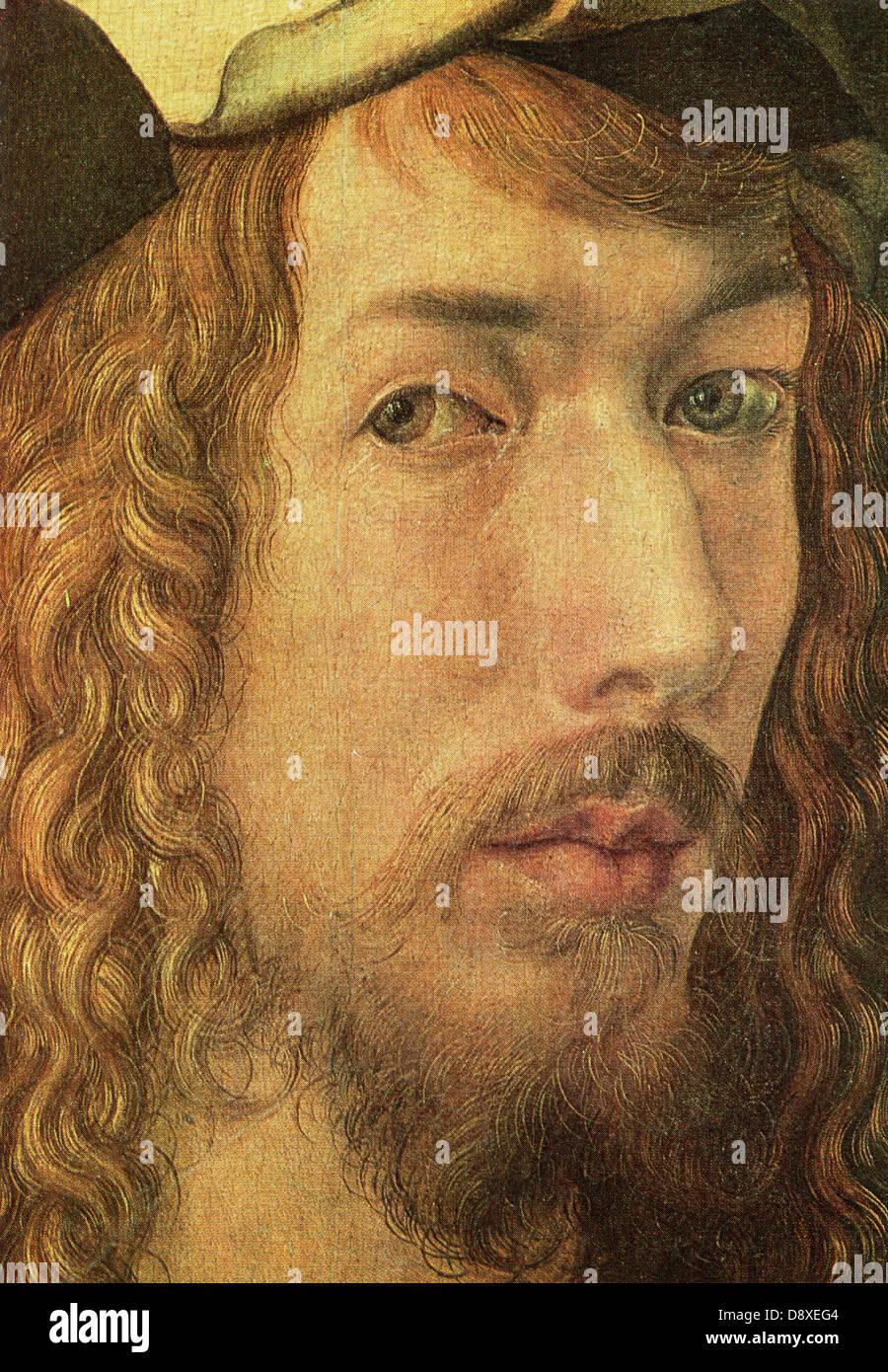 Albrecht Dürer, deutscher Maler und Kupferstecher (1471 ? 1528) Stockbild