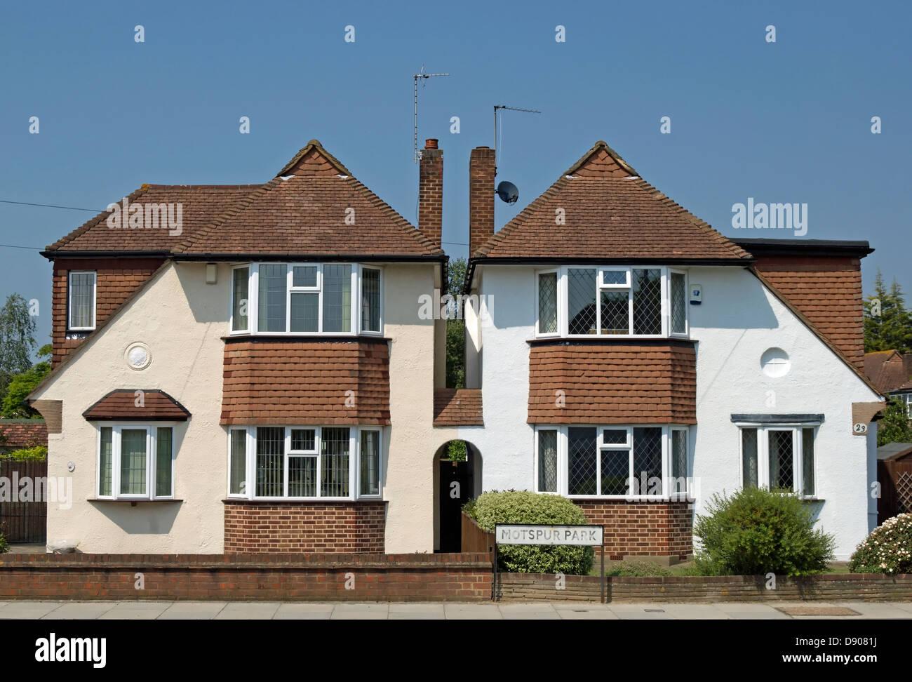 1930s house uk stockfotos 1930s house uk bilder alamy. Black Bedroom Furniture Sets. Home Design Ideas