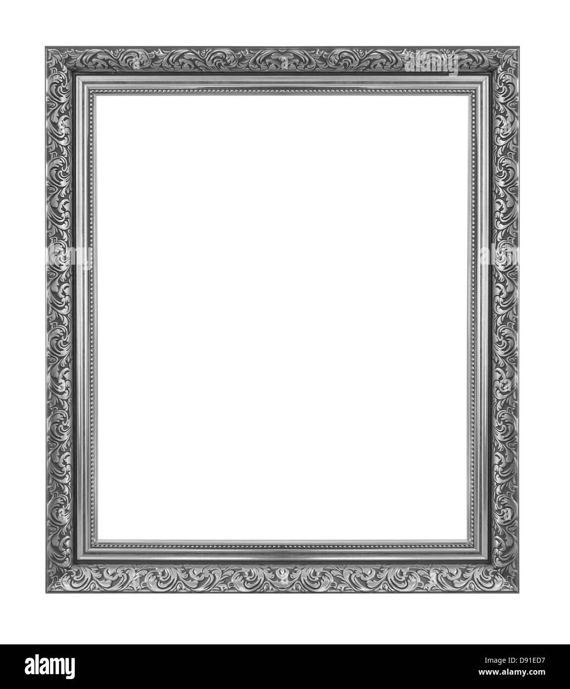 Antik schwarz isoliert auf weißem Hintergrund. Stockbild