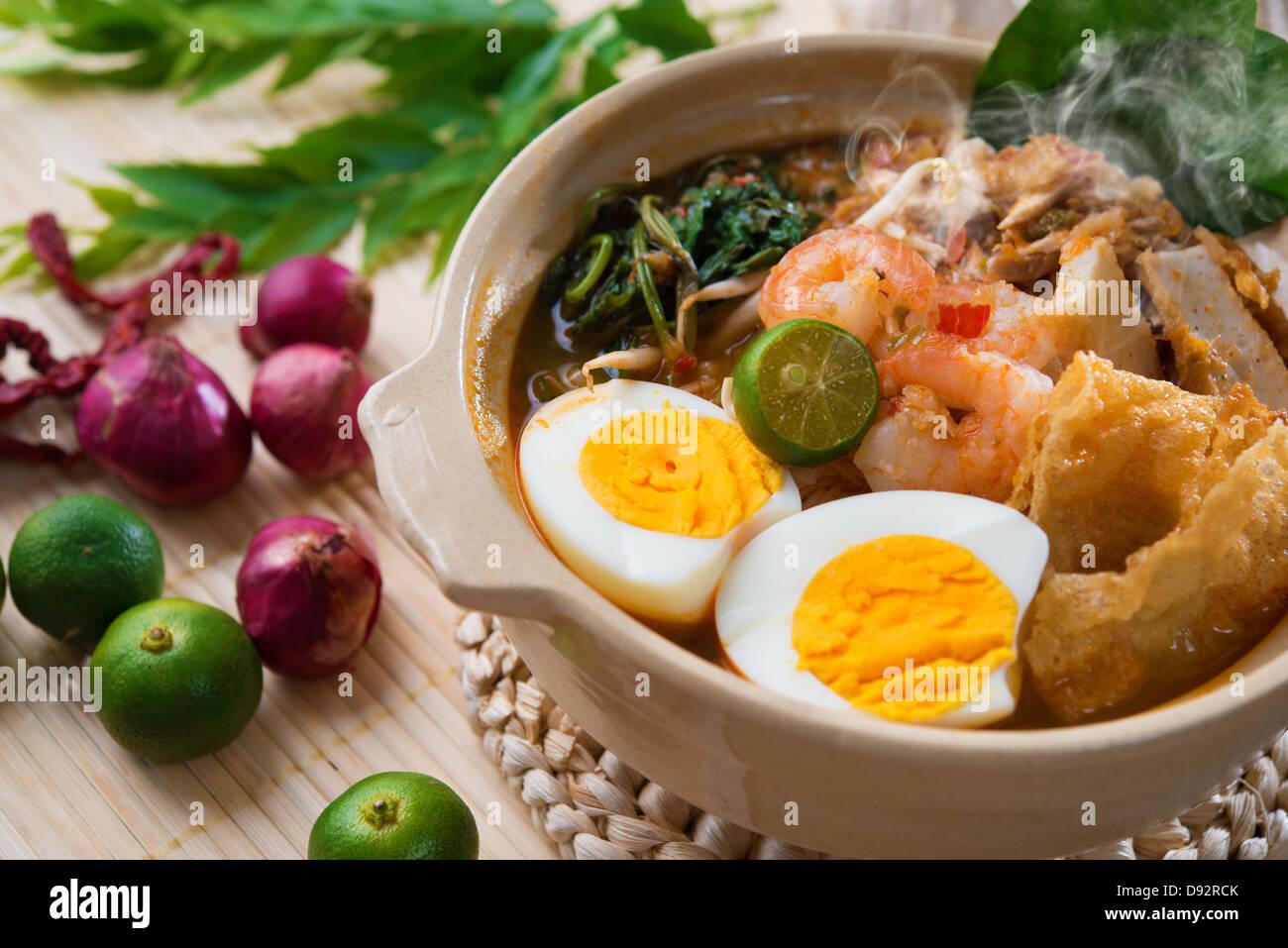 Malaysische Küche | Garnele Mich Garnele Nudeln Beruhmte Malaysische Kuche Wurzig Har