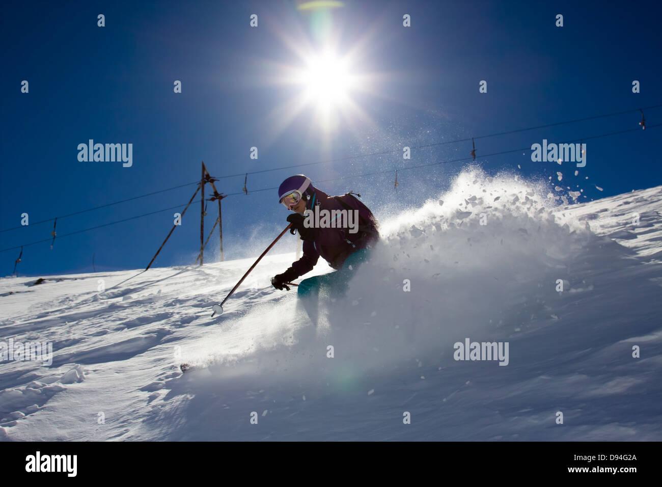 Old Ski Lift Stockfotos & Old Ski Lift Bilder - Alamy