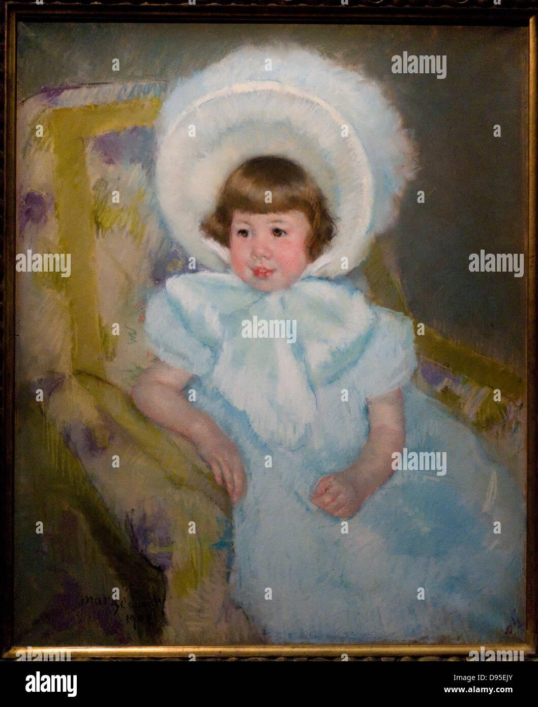 Mary Cassatt Mademoiselle Louise-Aurore Villeboeuf 1902 XX th Jahrhundert Pastell auf Papier Musée d ' Orsay - Paris Stockfoto