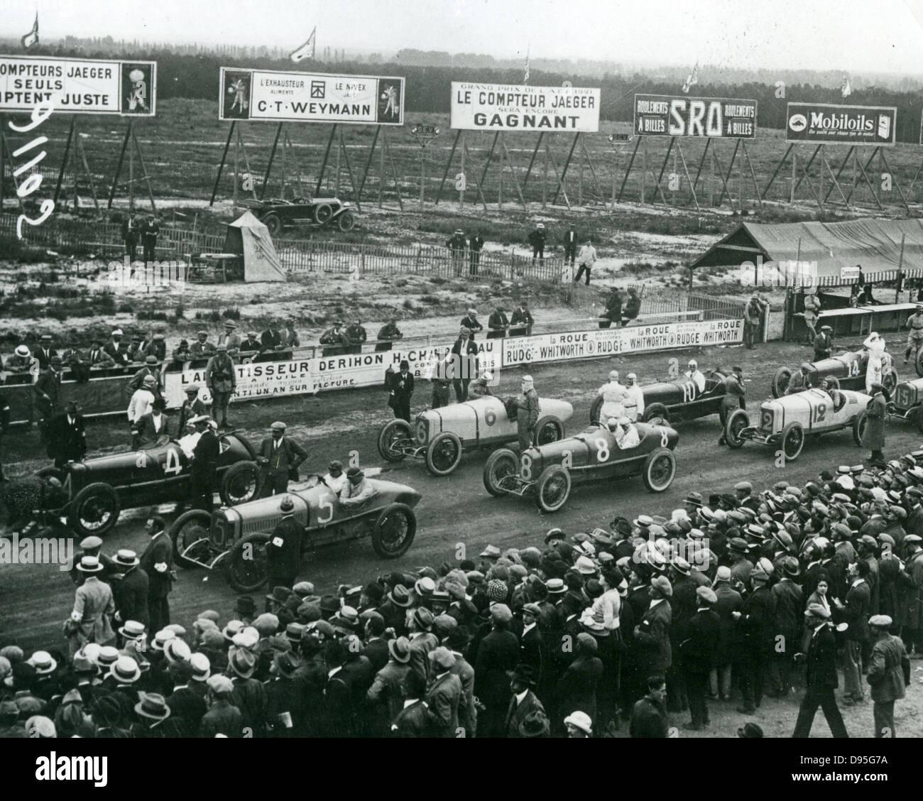 Großer Preis Von Frankreich In Le Mans Auf Montag 25 Juli 1921