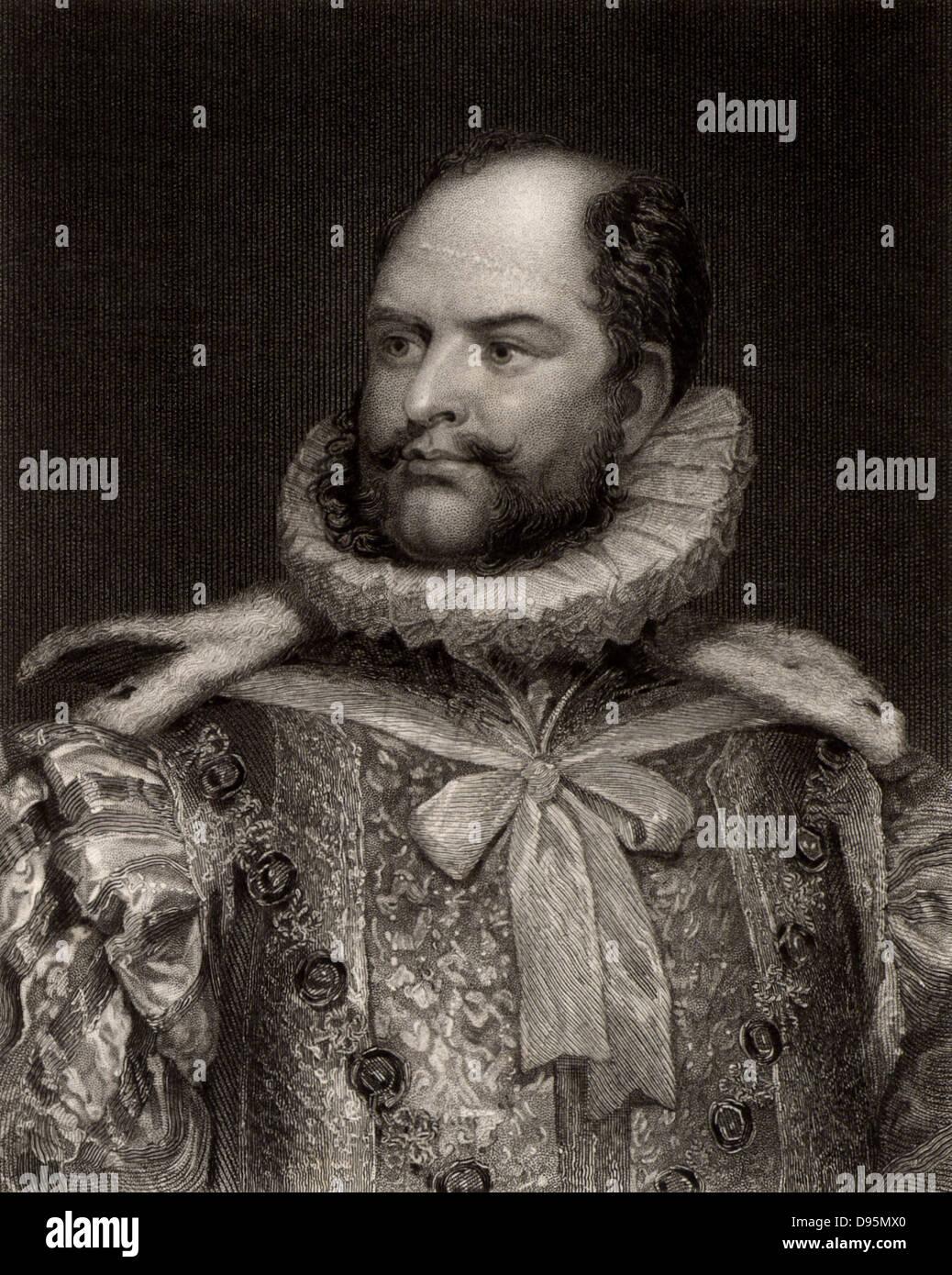 Augustus Frederick, Duke of Sussex (1773-1843) britische Prinz, Sechster Sohn von George III und Onkel von Königin Stockbild