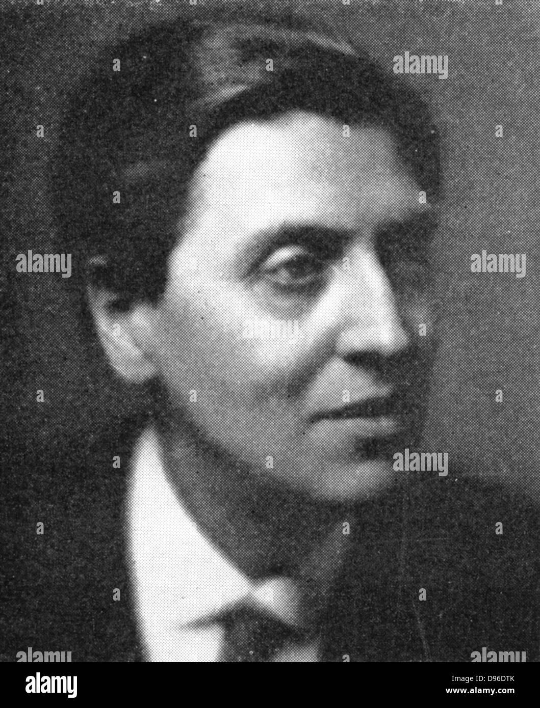 Österreichischen Komponisten Alban Berg (1885-1935), ein Schüler von Schönberg. Stockbild