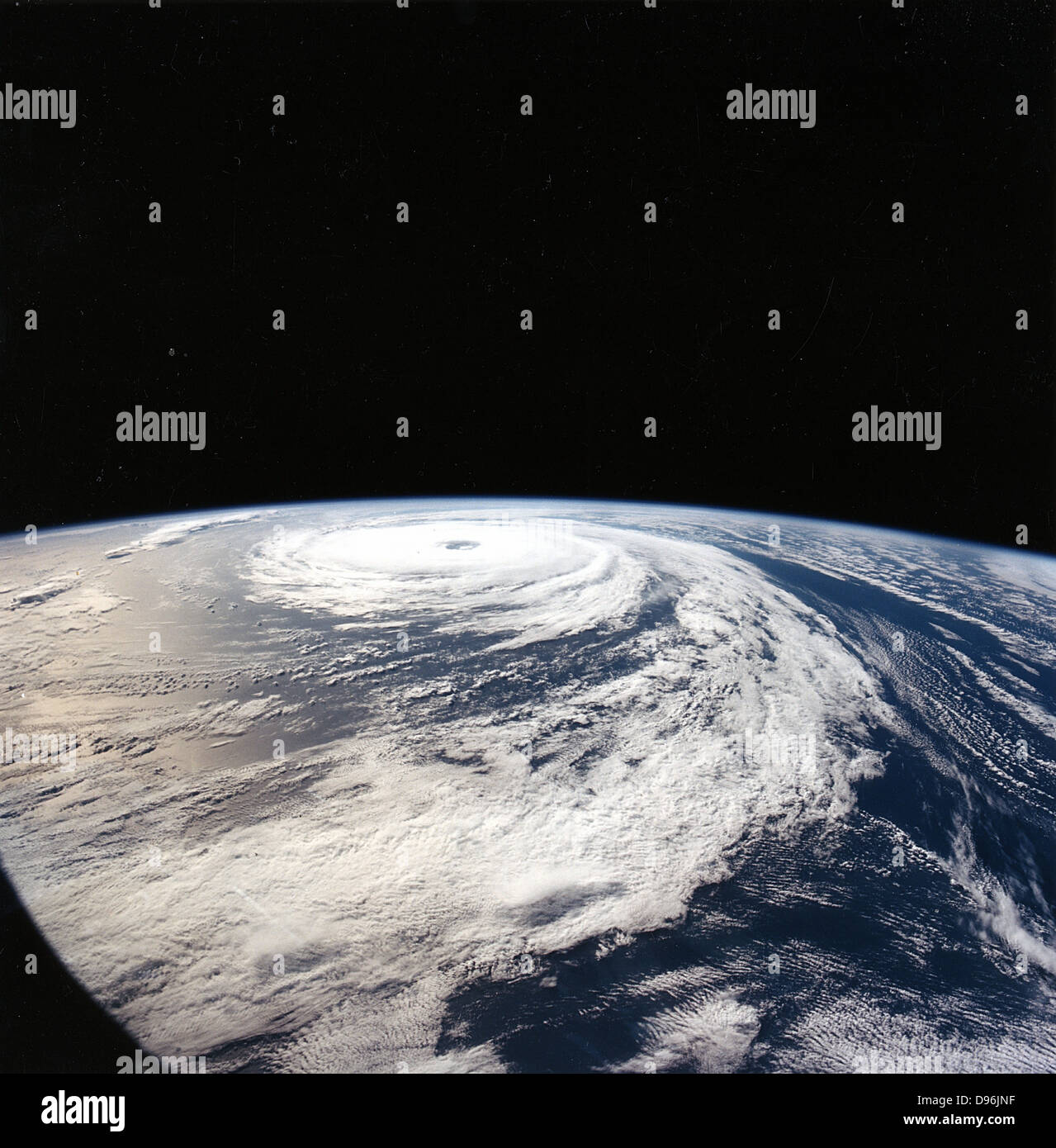 "Hurrikan ""Florenz"" 165n vom Space Shuttle Atlantis entnommen. Meilen über der Erde. NASA Stockbild"