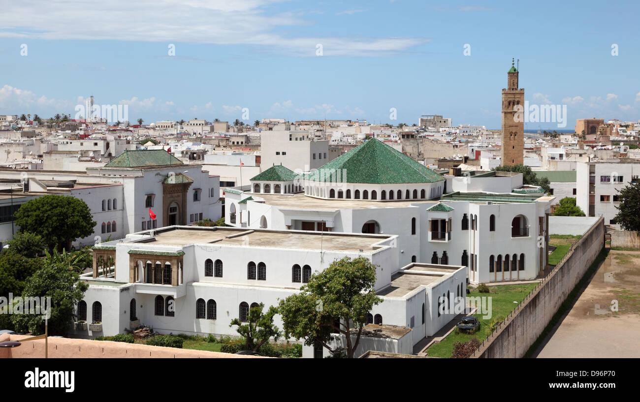 Moschee in der Altstadt von Rabat, Marokko Stockbild