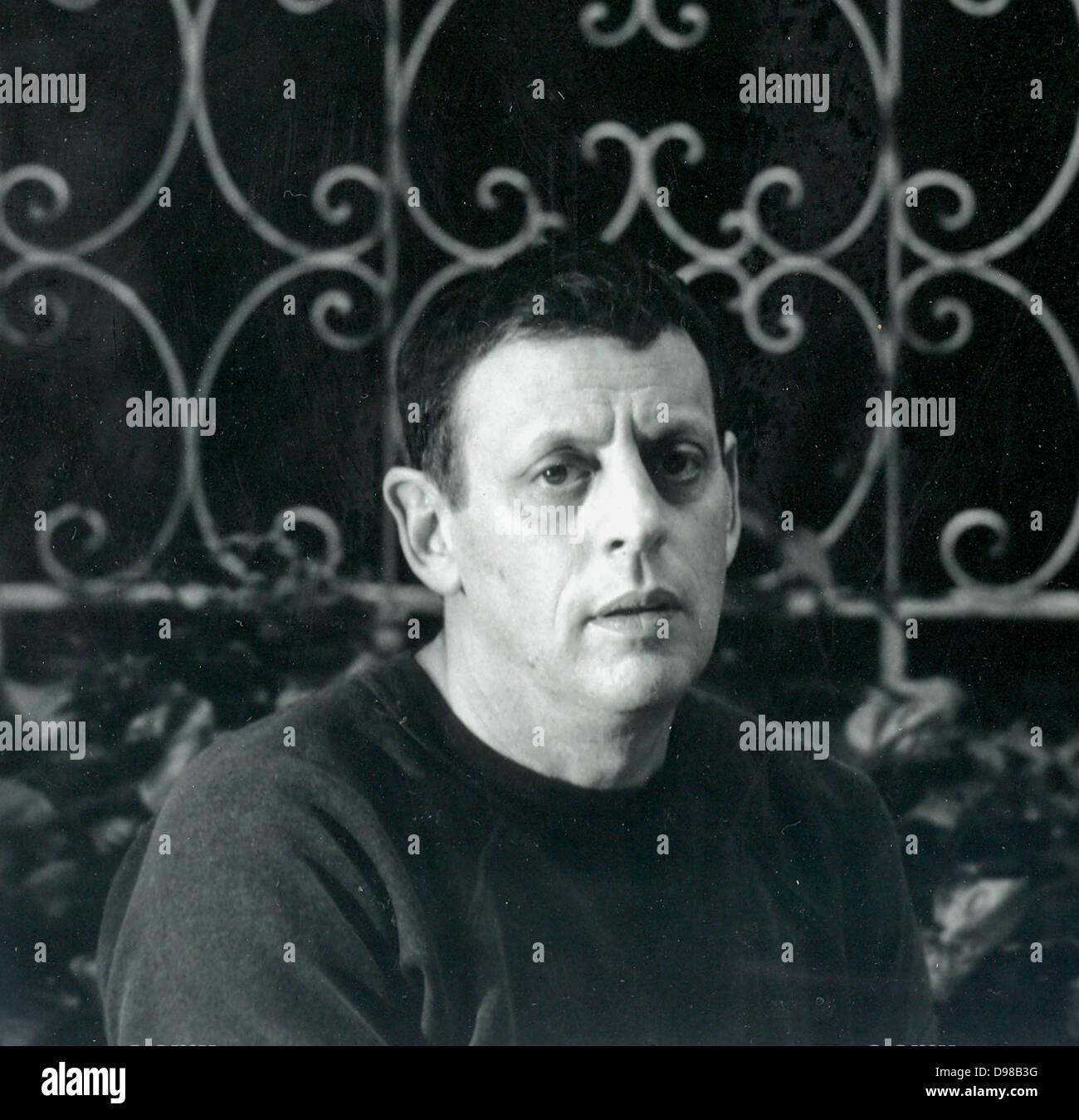 Philip Glass (geboren 1937) im Jahre 1989. US-amerikanischer Komponist. Stockbild