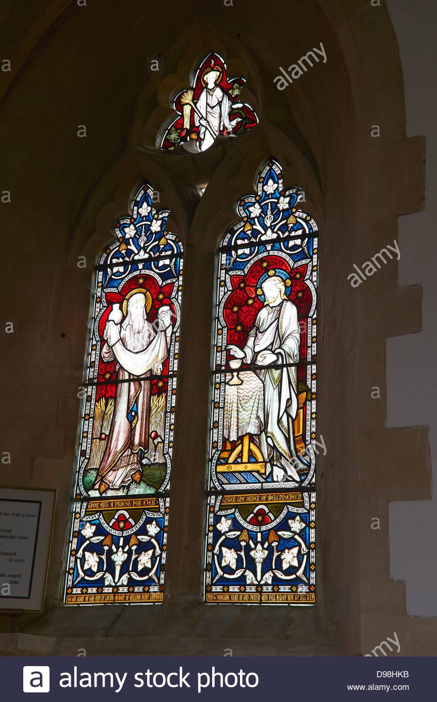 St. Peter und St. Paul Kirche in langen Compton, Warwickshire UK Stockbild
